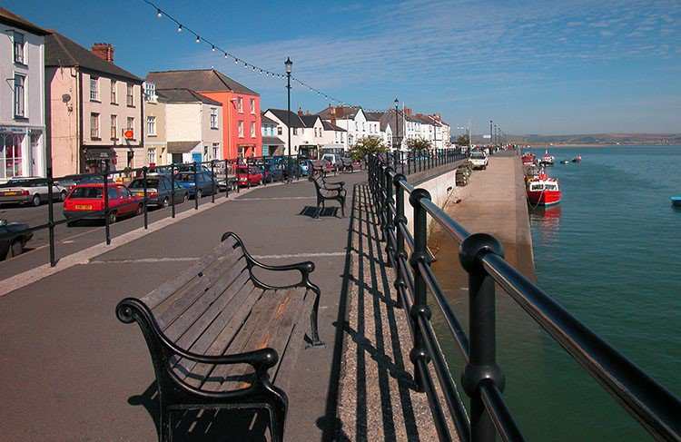 Appledore village North Devon image