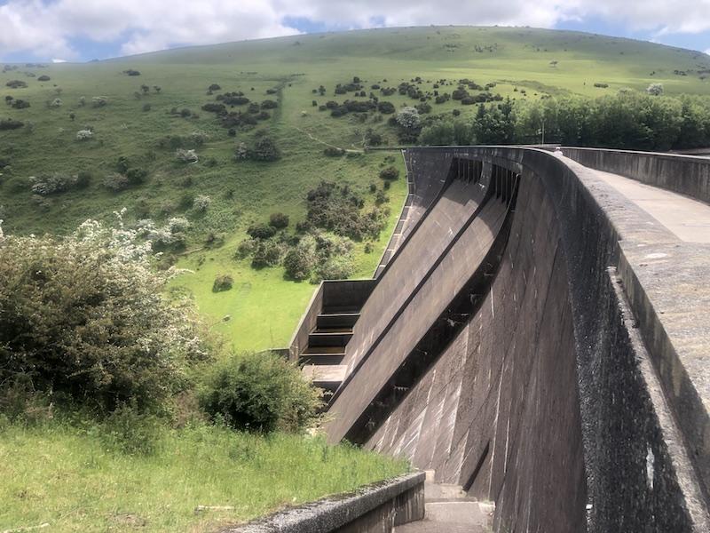 Meldon reservoir dam